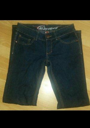 Edc Esprit Jeans a gamba dritta blu scuro