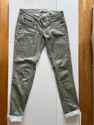 Jeans von Freeman t porter metallic grün 28
