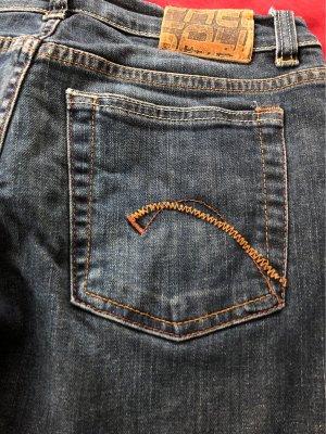 Freesoul Jeansowe spodnie dzwony niebieski