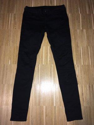 G-Star Raw Jeans vita bassa nero