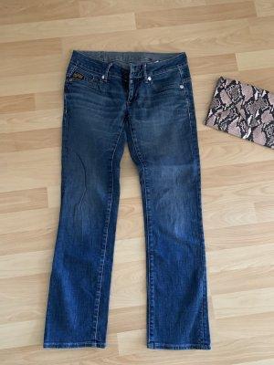 G-Star Raw Jeansy rurki niebieski
