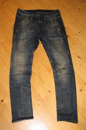 Gang Jeans blu-beige Cotone
