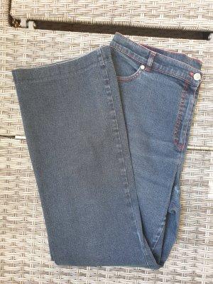 Atelier Gardeur Jeans a gamba dritta blu scuro-blu