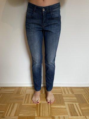 Atelier Gardeur Jeansy z prostymi nogawkami niebieski