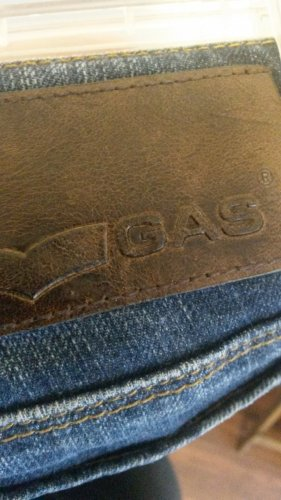 Gas Jeans bleu foncé