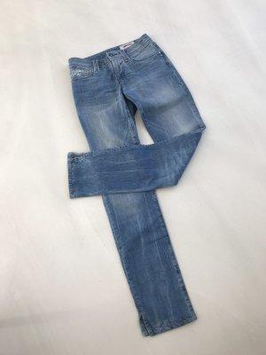 Gas Jeans cigarette bleu