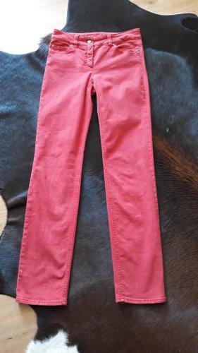 Gerry Weber Jeansy z prostymi nogawkami czerwony Bawełna