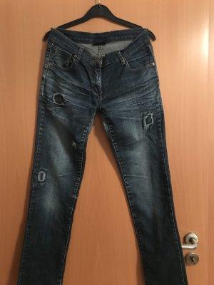 Gina Jeans stretch bleu acier