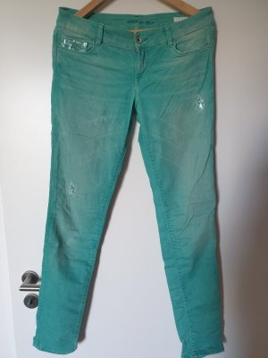 Guess Drainpipe Trousers mint