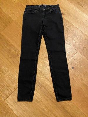 Guess Drainpipe Trousers black