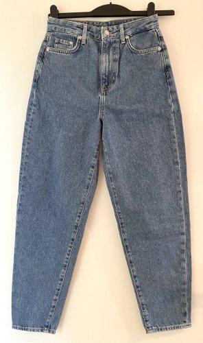 H&M Jeans boyfriend azzurro