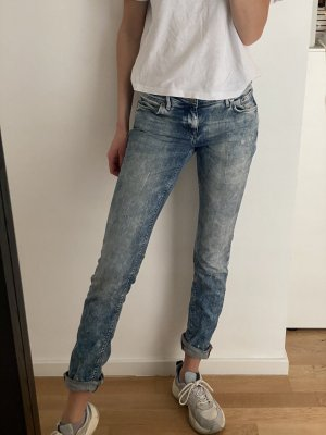 H&M Jeans carotte multicolore