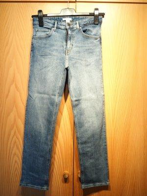 H&M Conscious Collection Jeans a 7/8 grigio ardesia Tessuto misto