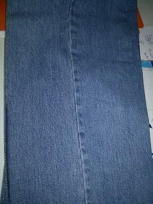 Helline Hoge taille jeans korenblauw Katoen