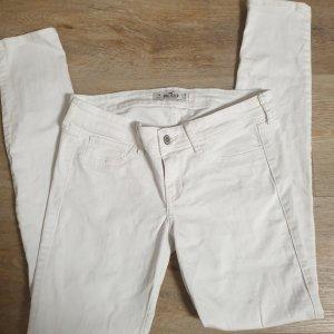Hollister Jeans skinny blanc cassé