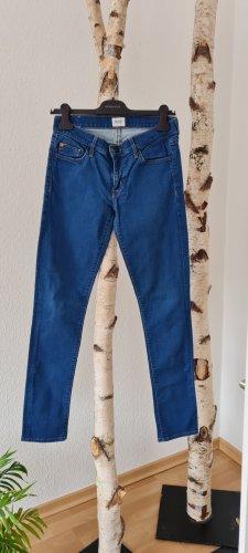 Hudson Jeans skinny blu acciaio