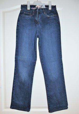 John Baner Jeans elasticizzati blu scuro Cotone