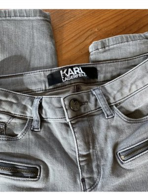 Karl Lagerfeld Tube Jeans grey