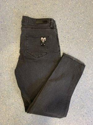 Karl Lagerfeld Baggy Jeans black-grey
