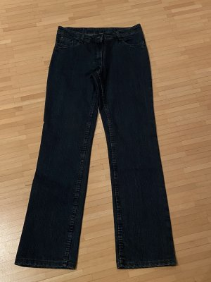 Land Haus Style Denim Flares dark blue