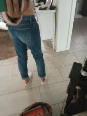 Le Temps des Cerises Jeans slim fit blu acciaio