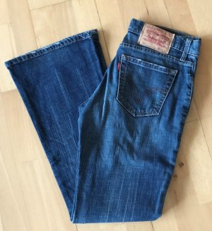 Levi's Boot Cut Jeans blue cotton
