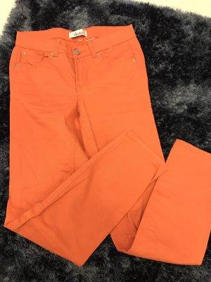 Jeans von Linea Tesini, Gr. S, orange