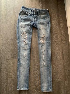 LTB Jeans vita bassa multicolore