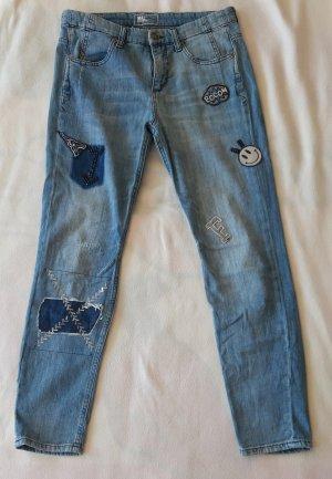 Jeans von MAC mit Patches