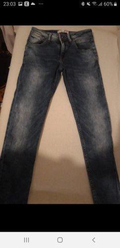 Mango Skinny jeans korenblauw
