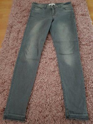 jeans von Mango in hellgrau