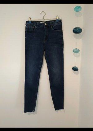 Mango Jeans cigarette bleu