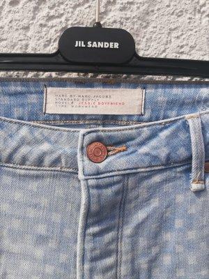 Marc Jacobs Boyfriend Trousers light blue