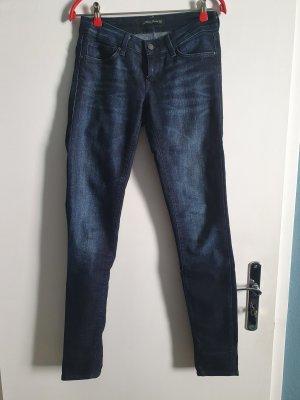 Mavi Jeans vita bassa blu scuro