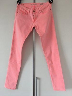 Jeans von Mavi Lachs gerader enger Schnitt Größe 30 Länge 34 Modell Serena