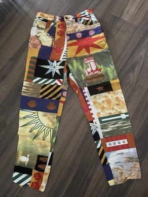 Moschino Jeans a sigaretta multicolore