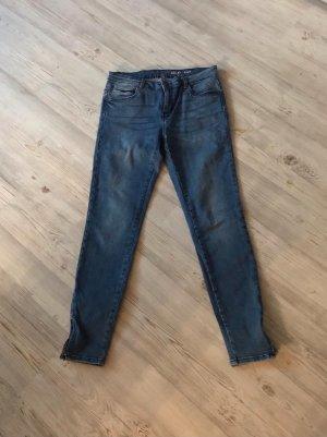 Noisy May 7/8 Length Trousers azure