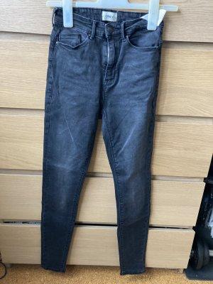 Only Pantalone a vita alta nero