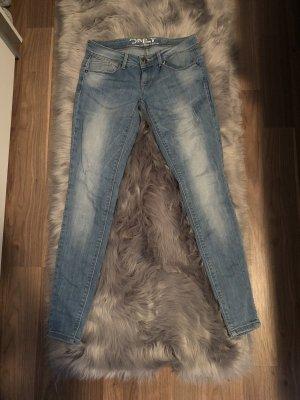 Jeans von Only mit heller Waschung W28/L30