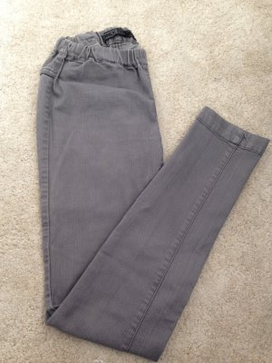 Only Drainpipe Trousers grey