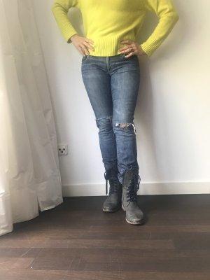 paper denim&cloth Jeans cigarette bleu