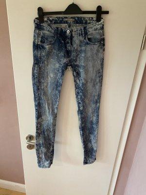 Patrizia Pepe Jeansy biodrówki niebieski
