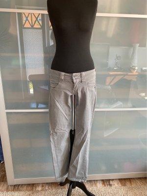 Pepe Jeans Jeans vita bassa grigio