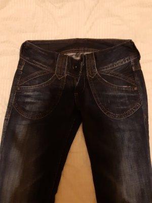 Pepe Jeans Jeans svasati blu-blu scuro