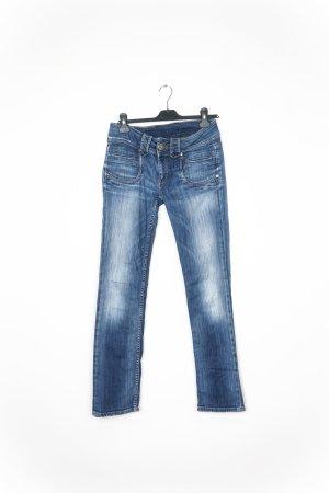 Pepe Jeans Slim jeans blauw-paars