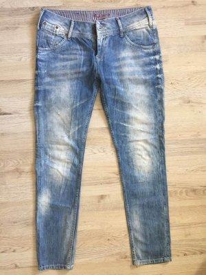 Pepe Jeans Boyfriend Jeans multicolored cotton