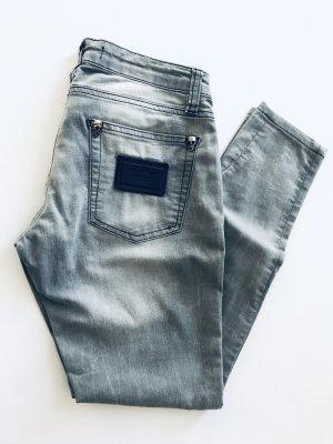 Philipp Plein Tube jeans lichtgrijs