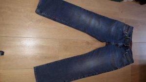 Pierre Cardin Pantalon strech bleu tissu mixte