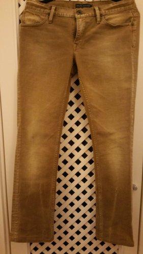 Ralph Lauren Jeans cigarette chameau-ocre