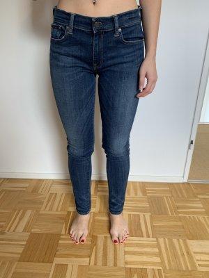 Ralph Lauren Tube jeans blauw-donkerblauw
